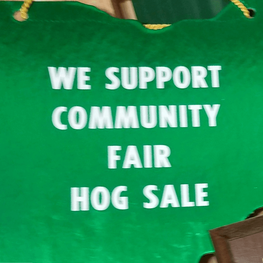 hog sale support